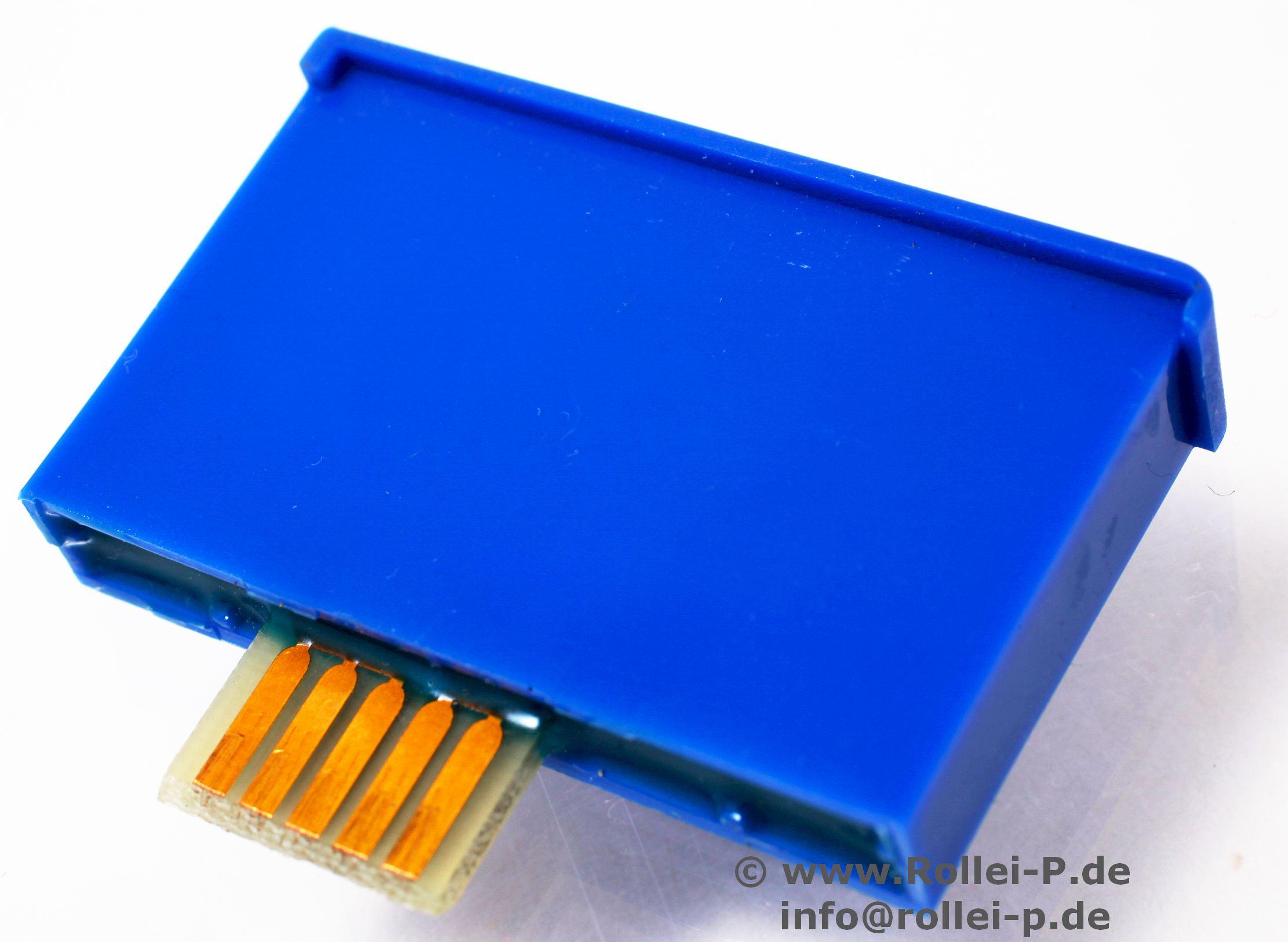 Chip-Module Modul Chip blau- Wiedergabe